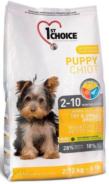 1St Choice Puppy Toy & Small Breeds mięso kurczaka 350g