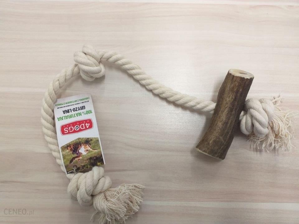 4Dogs Szarpak Gryzolina String S Mix 30cm