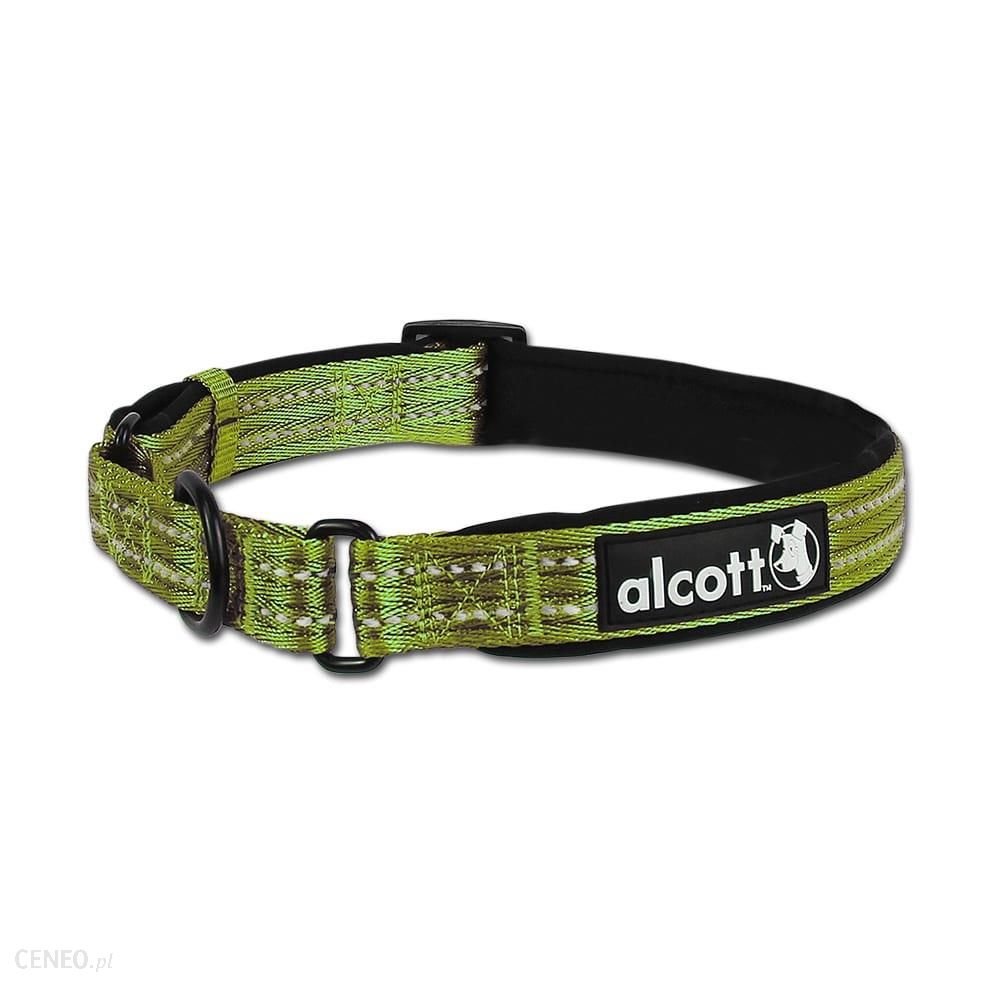 Alcott Obroża Martingale L Zielona 45-65Cm 2