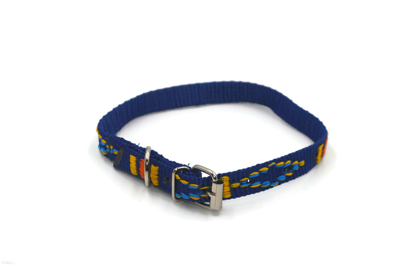 Alizoo Obroża Indiańska Dla Średniego Psa 16Mm Niebieski