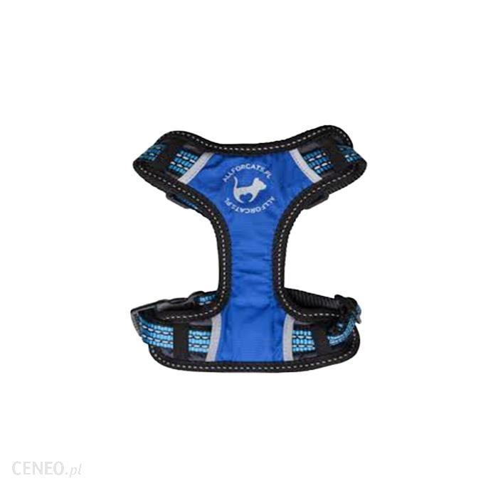 All For Cats Szelki sportowe niebieskie S