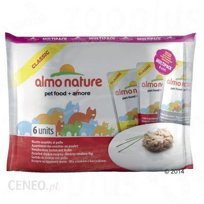 Almo Nature Classic 3 Smaki Tuńczyka W Galaretce 6x55G