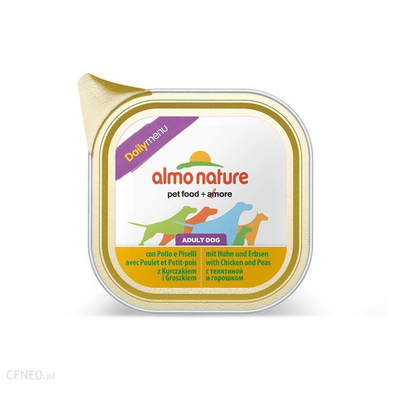 Almo Nature Daily Menu Kurczak z groszkiem 100g