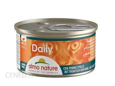 Almo Nature Daily Mus Tuńczykiem I Kurczakiem 85G