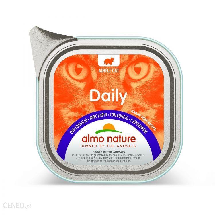 Almo Nature Daily Z Królikiem 100G