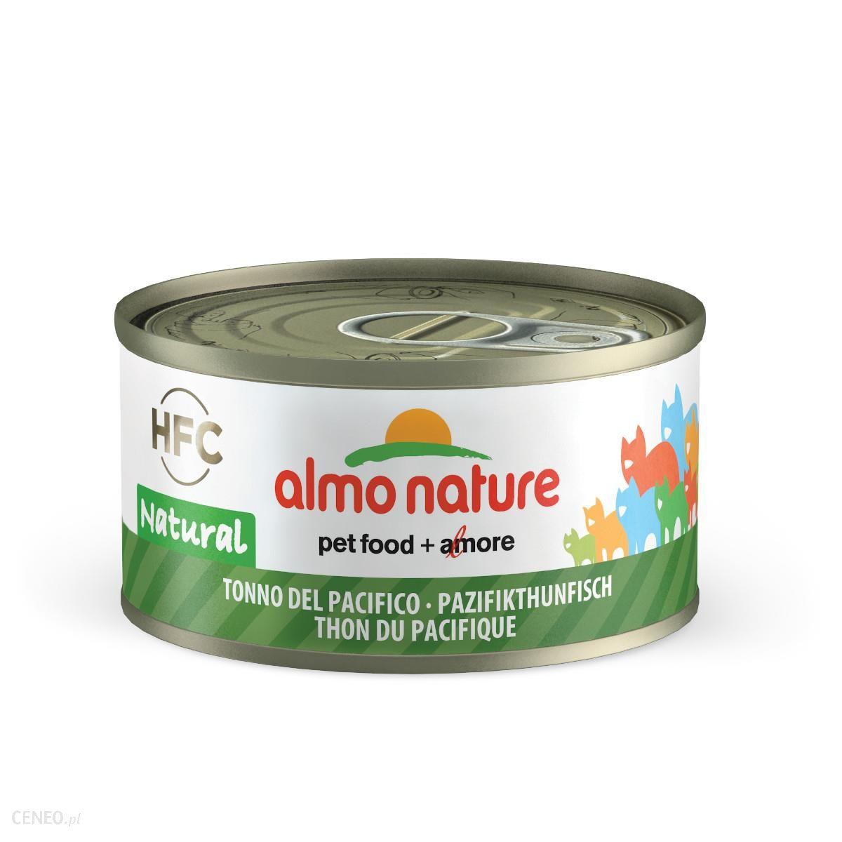 Almo Nature Puszka Hfc Natural Tuńczyk Pacyficzny 70G
