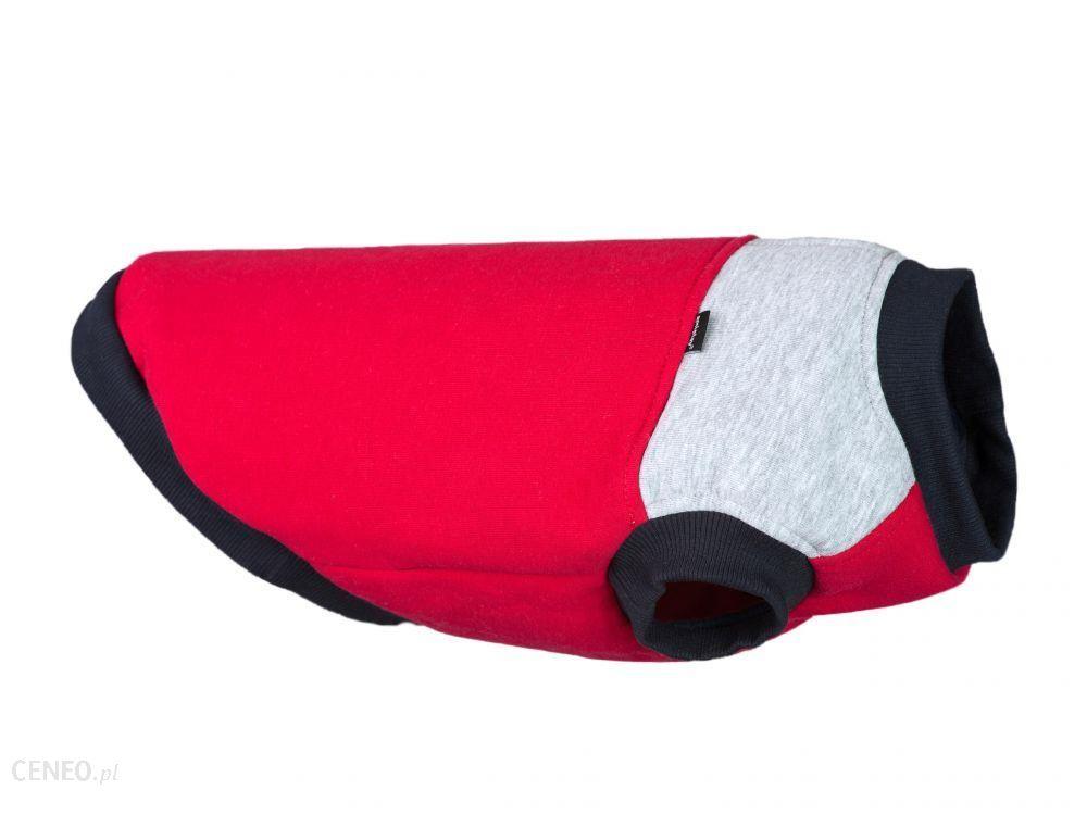 Amiplay Bluza Denver 45Cm Beagle Czerwono-Szara