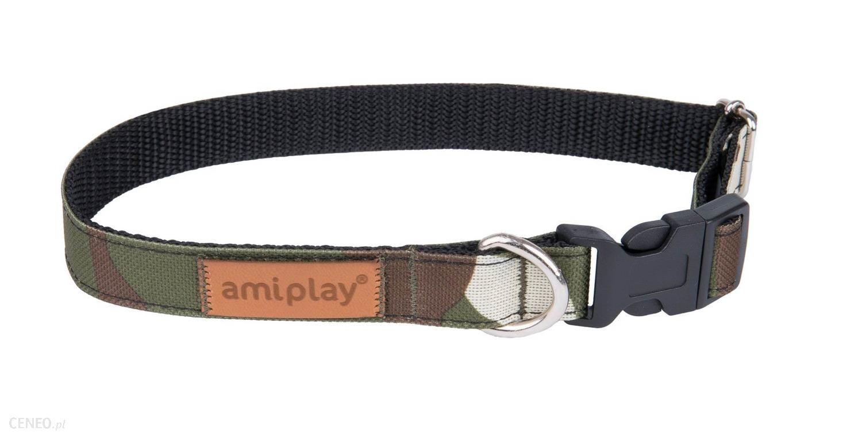 Amiplay Obroża Adventure L 35-50Cm/2Cm Moro