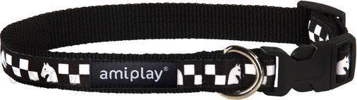 AmiPlay Obroża regulowana Joy M 25-40 b x 1