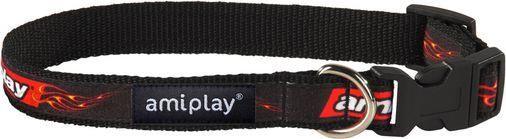 AmiPlay Obroża regulowana Joy S 20-35 b x 1cm Płomienie264