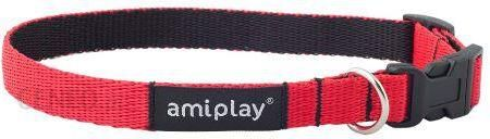 AmiPlay Obroża regulowana Twist M 25-40x1