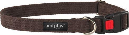 AmiPlay Obroża regulowana z blokadą Cotton S 28-40 bx1