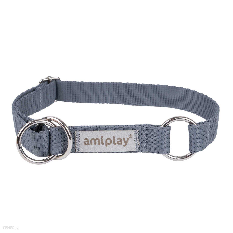 Amiplay Obroża Samba Półzaciskowa L 35-50X2