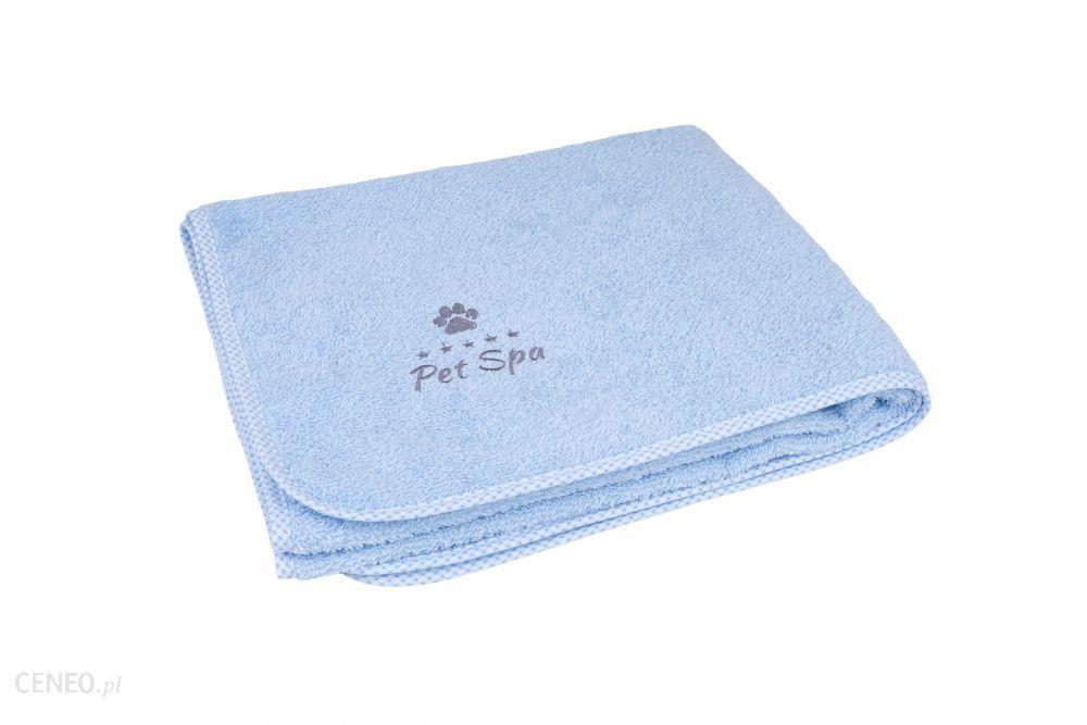 Amiplay Ręcznik Kąpielowy Dla Psa Spa L Niebieski