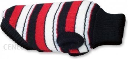 AmiPlay Sweterek dla psa Glasgow 19cm Paski czerwone