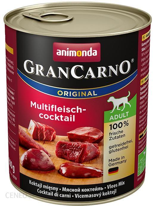 Animonda GranCarno Adult Koktajl Mięsny 800G