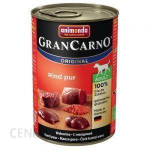 Animonda GranCarno Fleisch Pur Adult Czysta Wołowina 12x400g