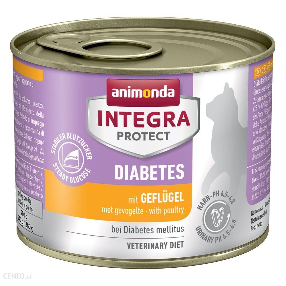 Animonda Integra Protect Adult Diabetes Z wołowiną 6x200g