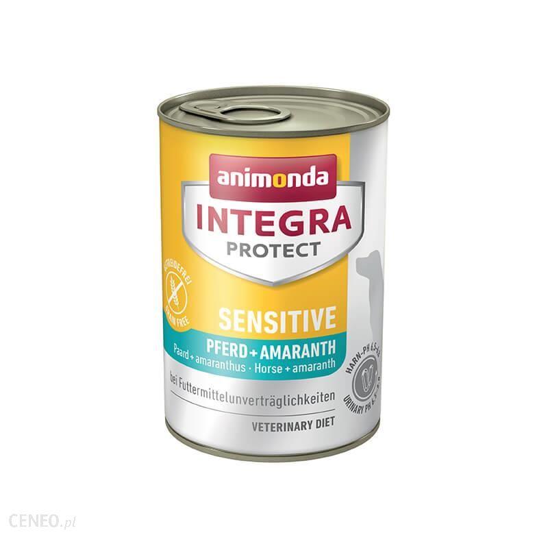 animonda Integra Protect Sensitive konina z amarantusem puszka 6x400g