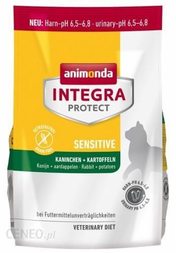 Animonda Integra Protect Sensitive Królik Ziemniaki 1