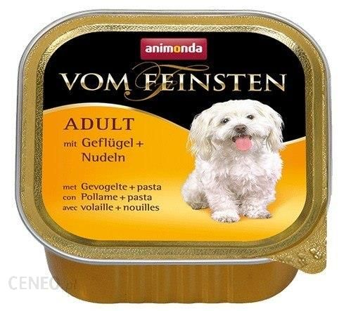 Animonda Vom Feinsten Dog Adult Drób I Makaron 150G