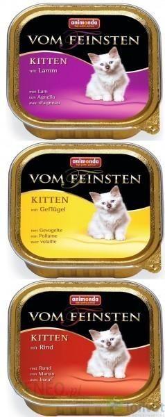 Animonda Vom Feinsten Kitten Mix Smaków 32X100G