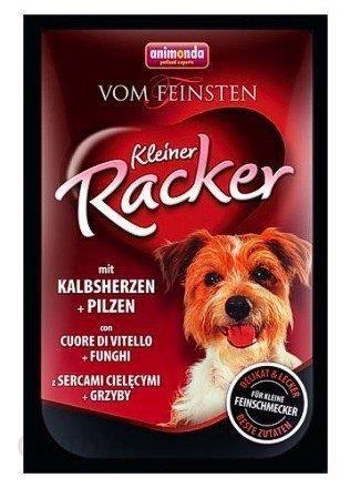 Animonda Vom Feinsten Kleiner Racker z Cielęcymi sercami i Grzybami 85g