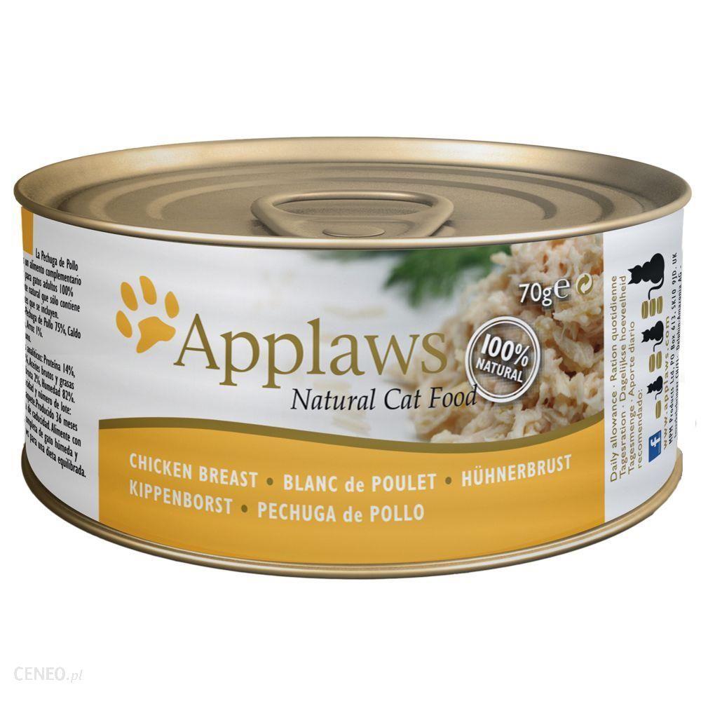 Applaws Filet z tuńczyka z krabami 6x70g