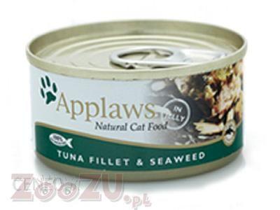 Applaws Tuna Fillet And Seaweed Tuńczyk z Wodorostami 156g
