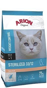 Arion Original Cat Sterilised 33/12 Salmon 2kg