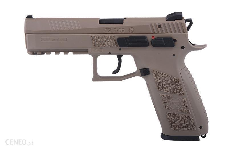 Asg Replika Pistoletu Cz P-09 Dark Earth