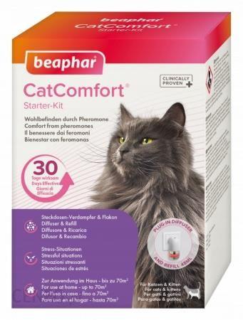 Beaphar Cat Comfort Calming Diffuser Starter Kit Dyfuzor Z Feromonami Dla Kotów