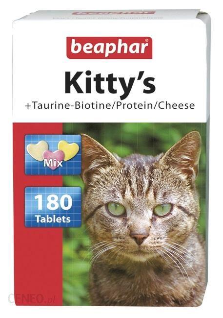 Beaphar Kitty S Taurine/Biotine Witaminowy Przysmak Tauryną I Biotyną 180Szt