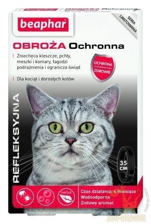 Beaphar Obroża Ochronna Refleksyjna Dla Kotów