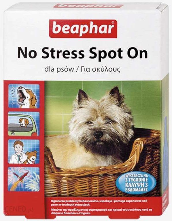 Beaphar Preparat Uspokajający No Stress Spot On Dla Psa Op 3 Pipety