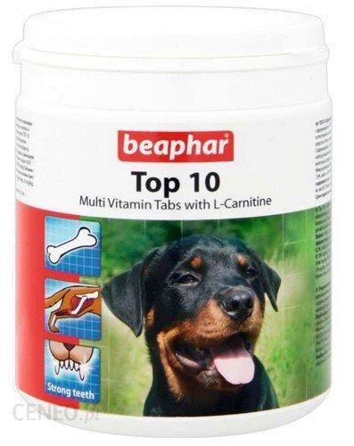 Beaphar TOP 10 Dog z L-karnityną 750tabl.