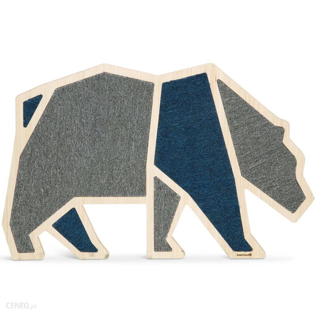 Beeztees Drapak Dla Kota Blue Bear 84X54Cm Drewniany