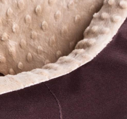 Bimbay Pokrowiec do kanapy Minky r1 65x50cm brąz-beż