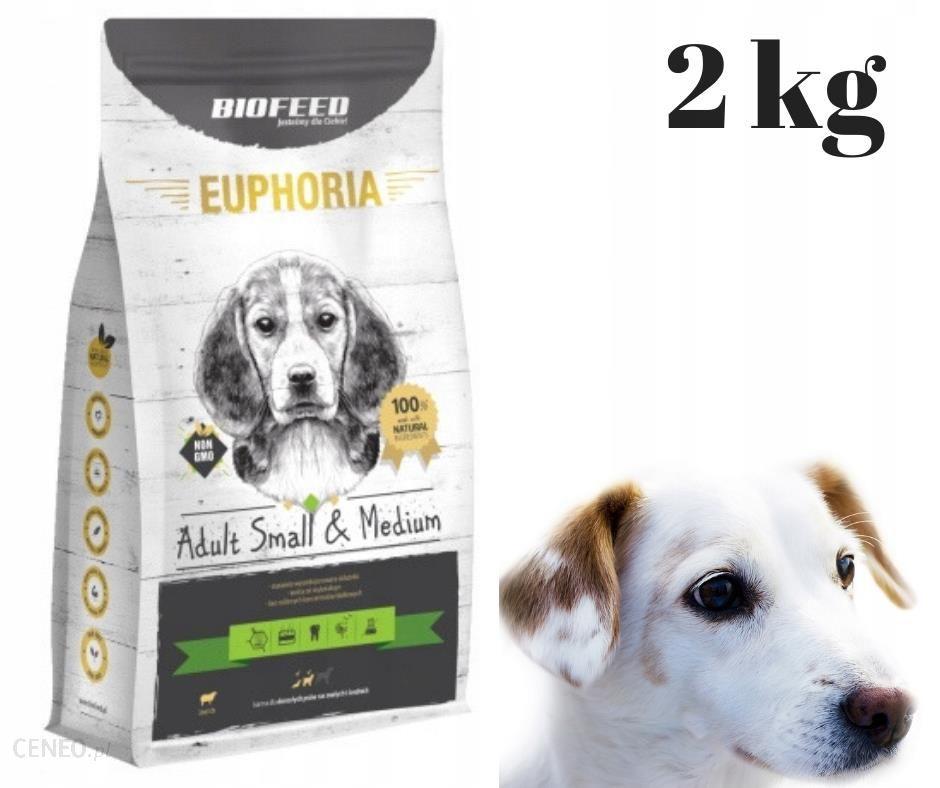 BioFeed Euphoria Adult Small Medium jagnięcina 2Kg
