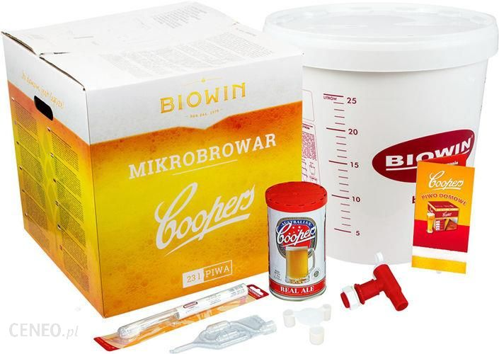 Biowin Zestaw ECO 2 do przygotowania piwa w domowych warunkach