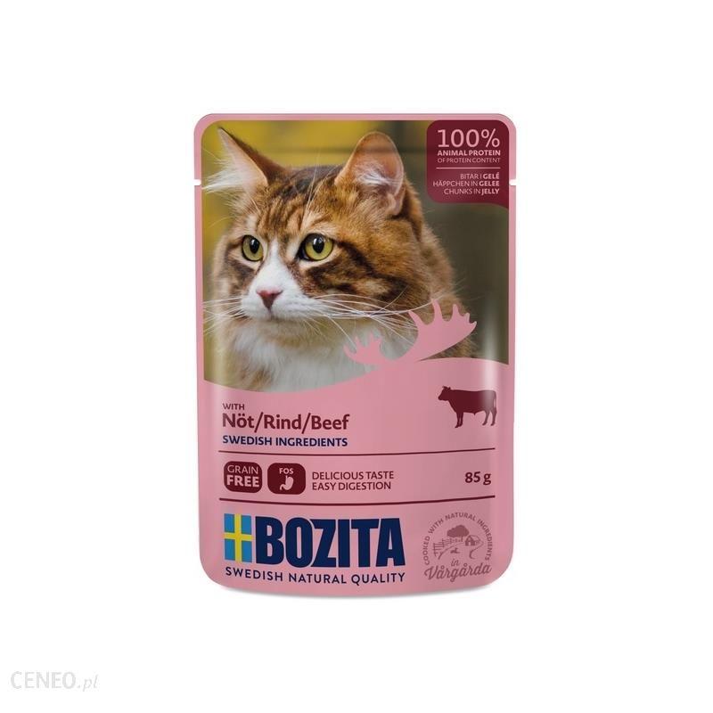 Bozita Cat Wolowina W Galaretce Saszetka 85G