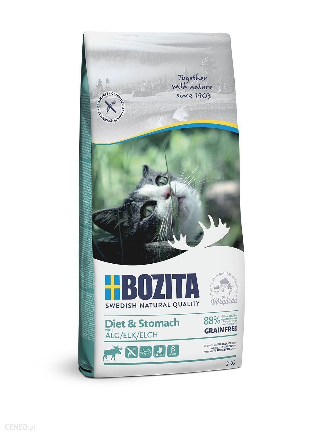 BOZITA Diet & Stomach Grain free Łoś 2kg
