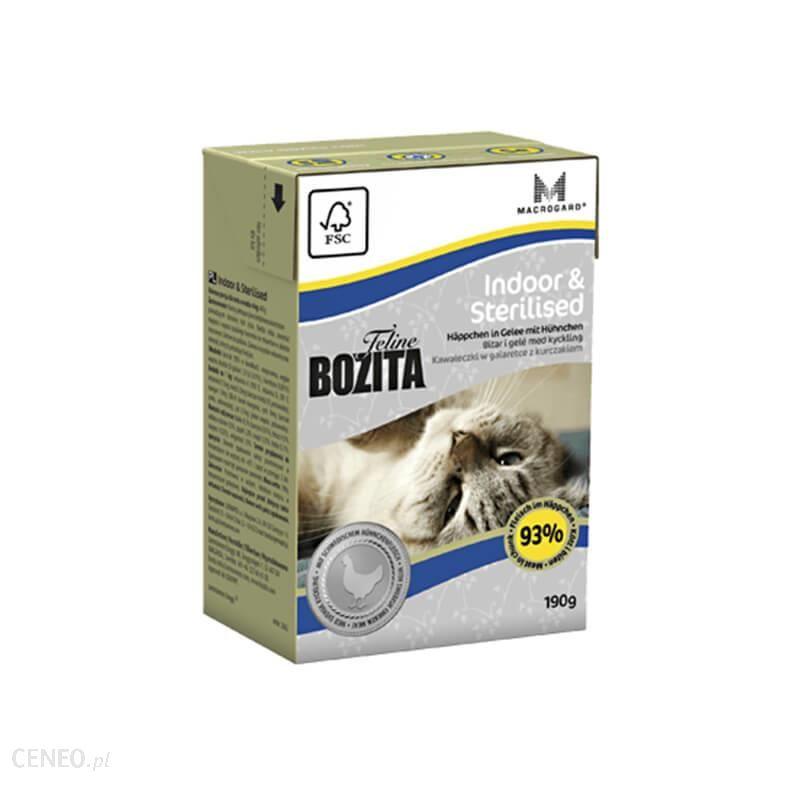 BOZITA Feline Indoor & Sterilised 6x190g