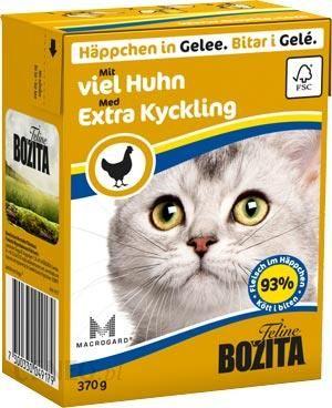 Bozita Feline Kawałki Z Kurczakiem W galaretce 370g