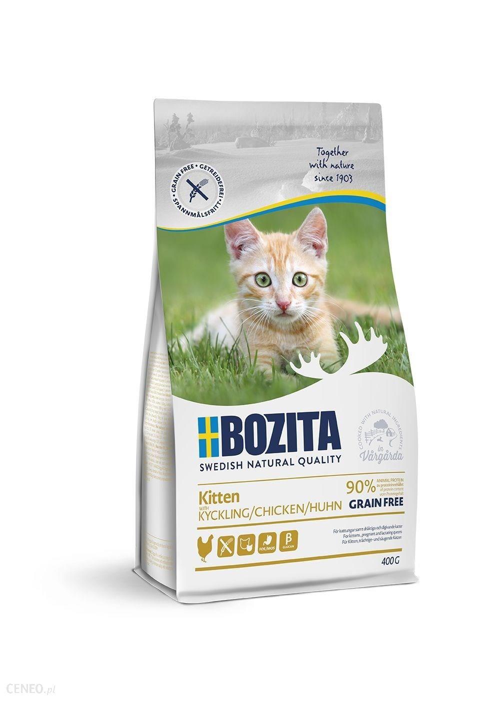 BOZITA Kitten Grain free Kurczak 400g