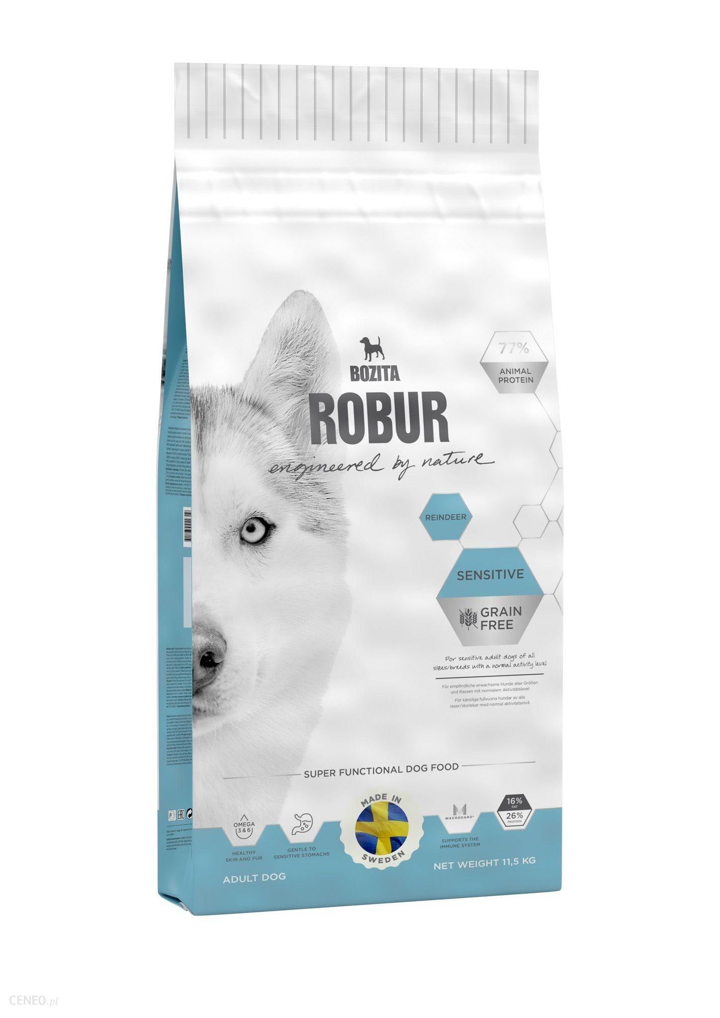 Bozita Robur Sensitive Grain Free Reindeer 11