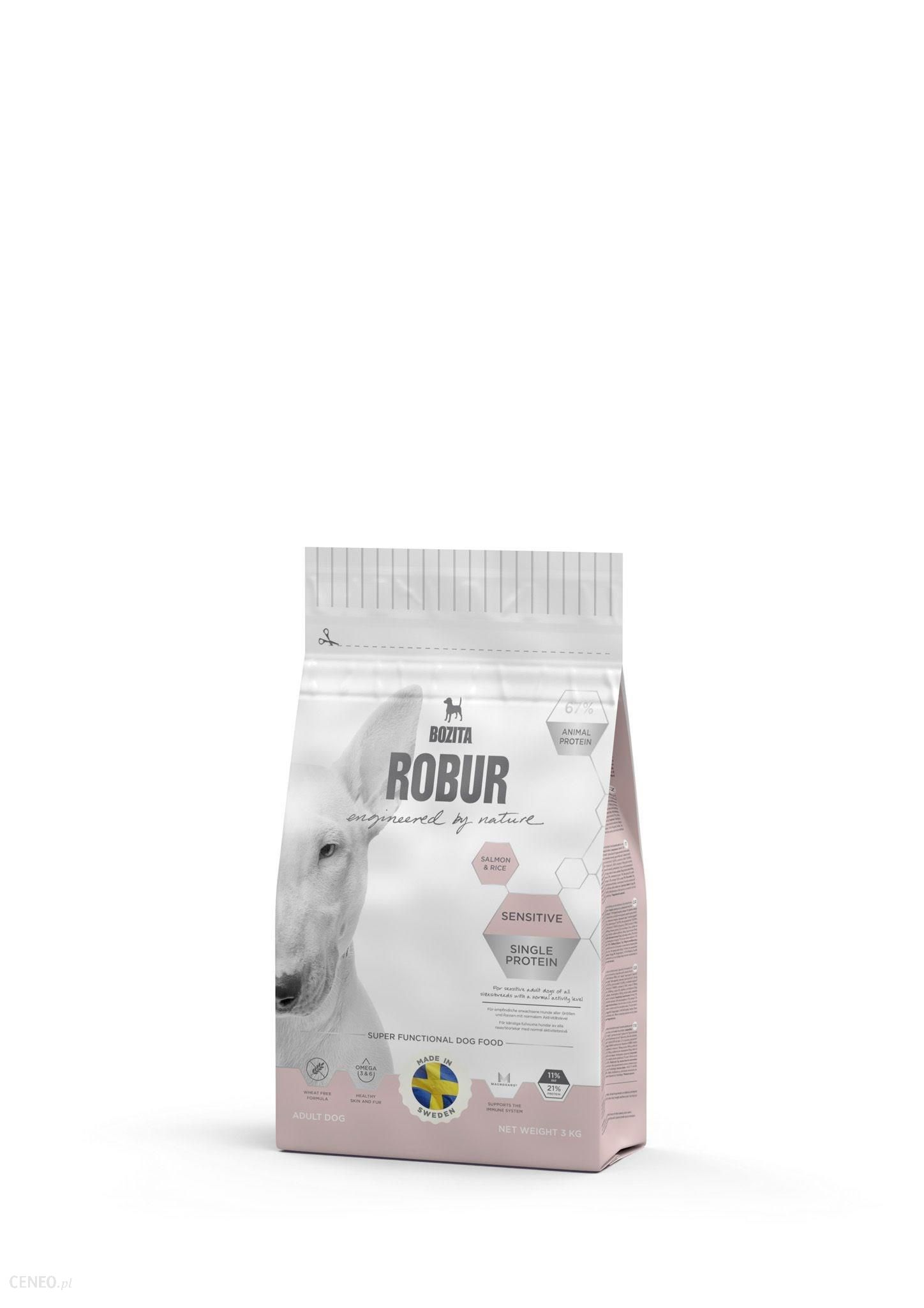 Bozita Robur Sensitive Single Protein Salmon & Rice 3kg