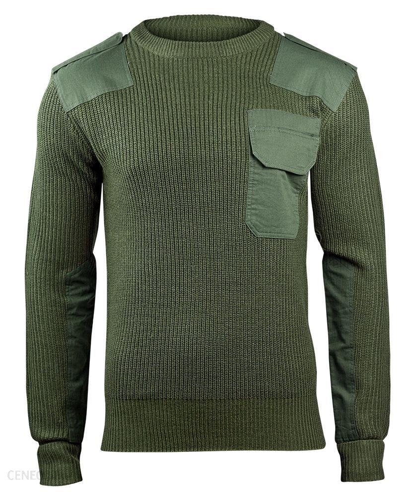 Brandit Sweter Wojskowy Bw Pullover Olive