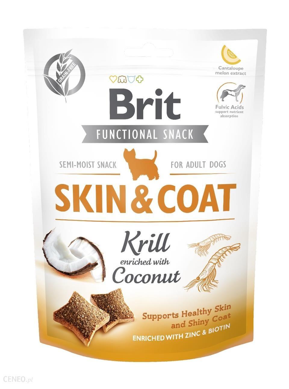 Brit Care Functional Snack Skin & Coat Krill 150G