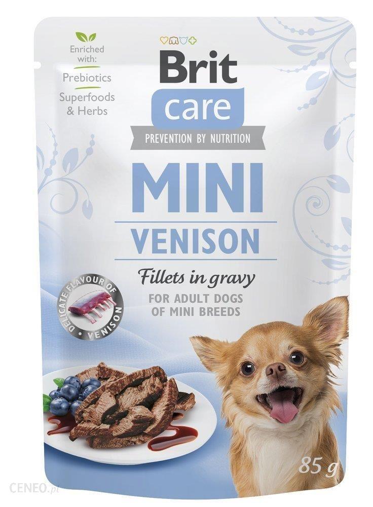 Brit Care Mini Venison Fillets In Gravy Sarnina W Sosie 85G